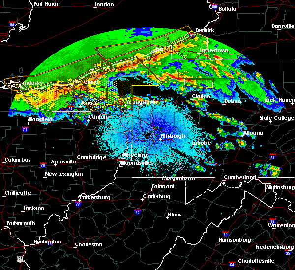 Radar Image for Severe Thunderstorms near Austintown, OH at 4/7/2020 11:30 PM EDT