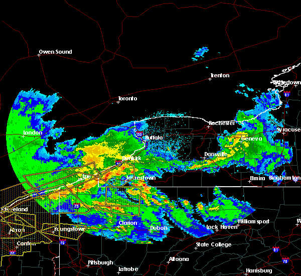 Radar Image for Severe Thunderstorms near Sugar Grove, PA at 4/7/2020 11:47 PM EDT