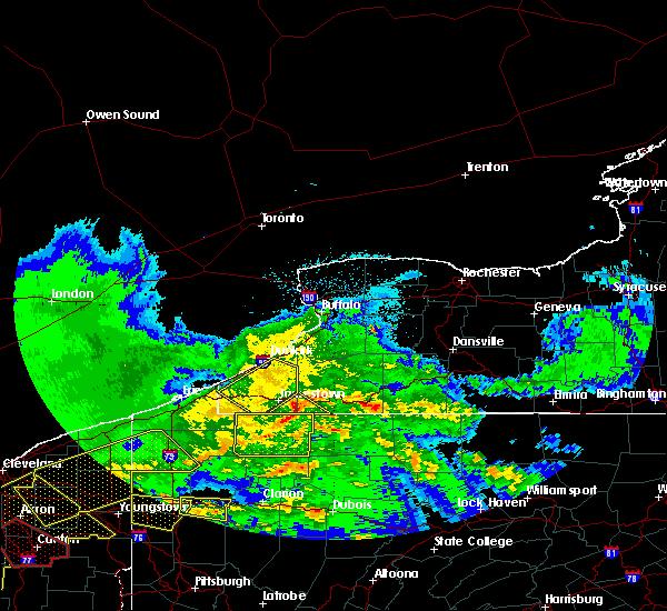 Radar Image for Severe Thunderstorms near Panama, NY at 4/8/2020 12:09 AM EDT