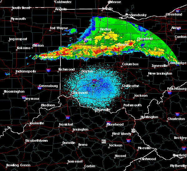 Radar Image for Severe Thunderstorms near Anna, OH at 4/8/2020 1:43 AM EDT