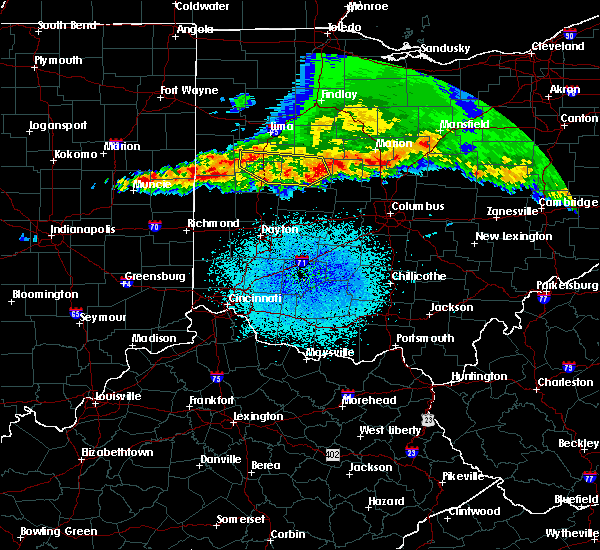 Radar Image for Severe Thunderstorms near Radnor, OH at 4/8/2020 1:47 AM EDT