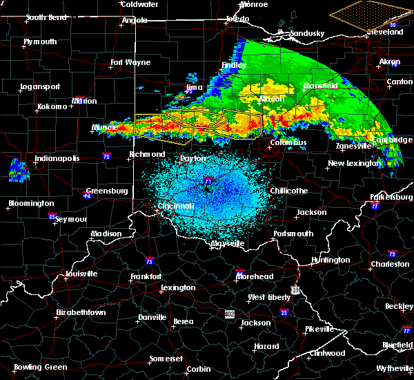 Radar Image for Severe Thunderstorms near Fletcher, OH at 4/8/2020 2:06 AM EDT