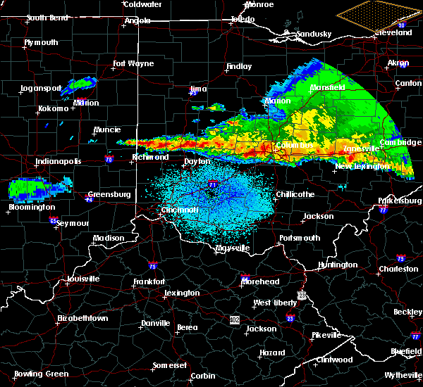Radar Image for Severe Thunderstorms near Fletcher, OH at 4/8/2020 2:48 AM EDT