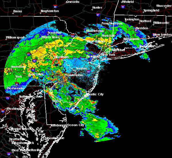 Radar Image for Severe Thunderstorms near Oak Valley, NJ at 4/8/2020 2:57 AM EDT
