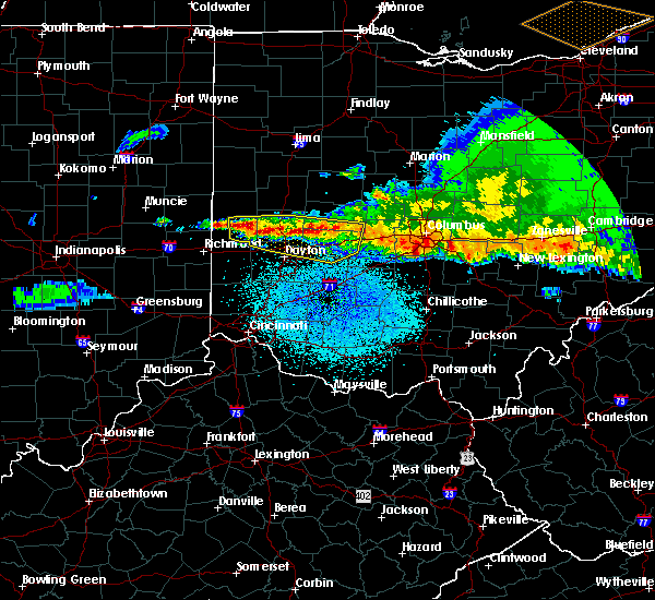 Radar Image for Severe Thunderstorms near St. Paris, OH at 4/8/2020 2:58 AM EDT