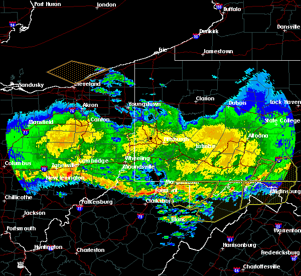 Radar Image for Severe Thunderstorms near Newburg, WV at 4/8/2020 3:00 AM EDT