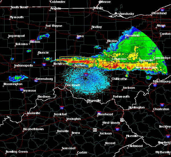Radar Image for Severe Thunderstorms near Englewood, OH at 4/8/2020 3:07 AM EDT