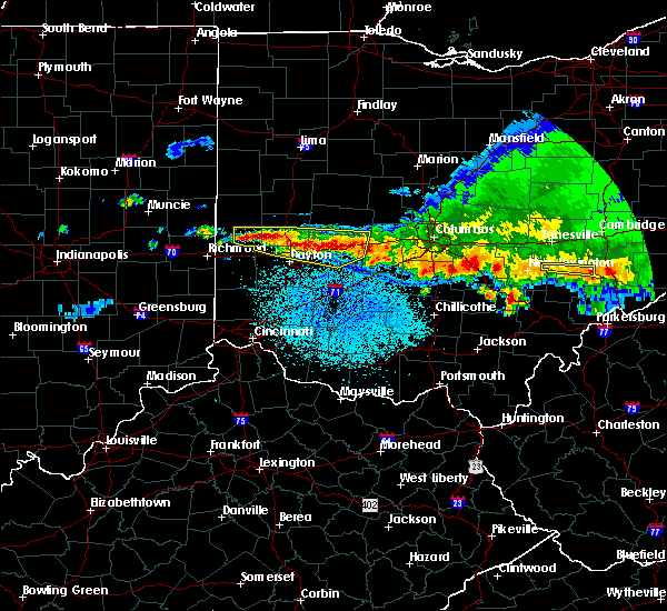 Radar Image for Severe Thunderstorms near Englewood, OH at 4/8/2020 3:15 AM EDT