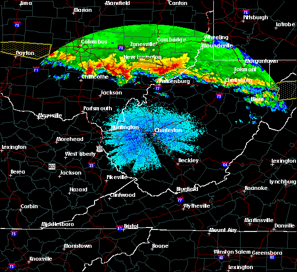 Radar Image for Severe Thunderstorms near Stewart, OH at 4/8/2020 3:29 AM EDT
