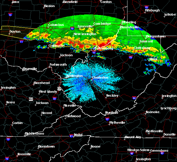 Radar Image for Severe Thunderstorms near Cairo, WV at 4/8/2020 3:37 AM EDT
