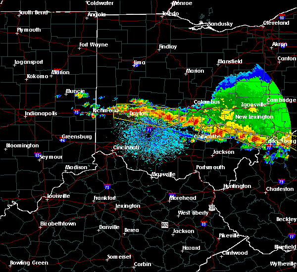 Radar Image for Severe Thunderstorms near Logan, OH at 4/8/2020 3:41 AM EDT