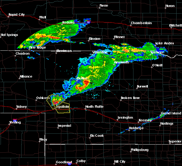 Radar Image for Severe Thunderstorms near Roscoe, NE at 6/25/2015 4:01 PM MDT