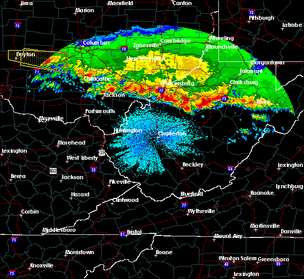 Radar Image for Severe Thunderstorms near Stewart, OH at 4/8/2020 4:14 AM EDT