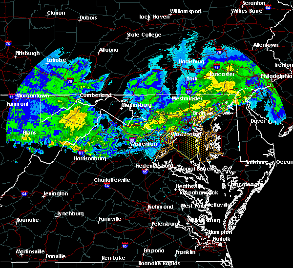 Radar Image for Severe Thunderstorms near Bowleys Quarters, MD at 4/8/2020 4:26 AM EDT