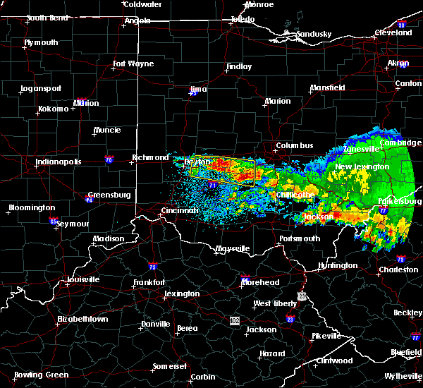 Radar Image for Severe Thunderstorms near Shawnee Hills, OH at 4/8/2020 4:30 AM EDT