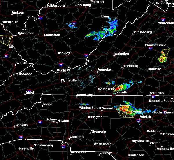 Radar Image for Severe Thunderstorms near Virgilina, VA at 6/25/2015 6:04 PM EDT