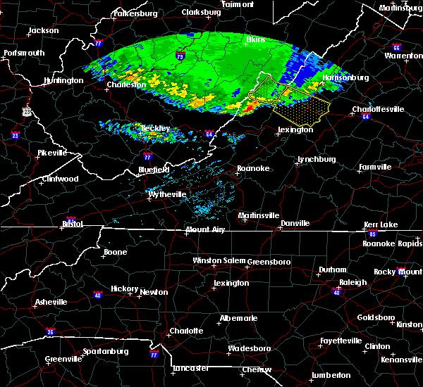 Radar Image for Severe Thunderstorms near Dooms, VA at 4/8/2020 5:35 AM EDT