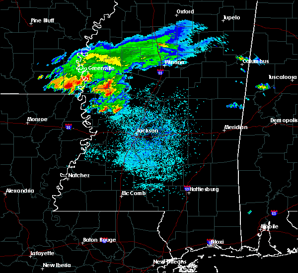 Radar Image for Severe Thunderstorms near Eudora, AR at 4/8/2020 12:11 PM CDT