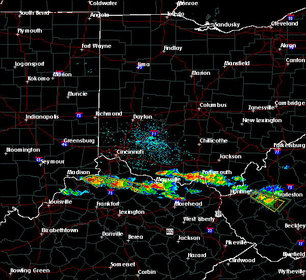 Radar Image for Severe Thunderstorms near Cynthiana, KY at 4/8/2020 1:25 PM EDT