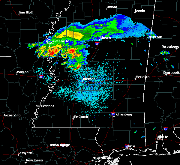 Radar Image for Severe Thunderstorms near Eudora, AR at 4/8/2020 12:27 PM CDT