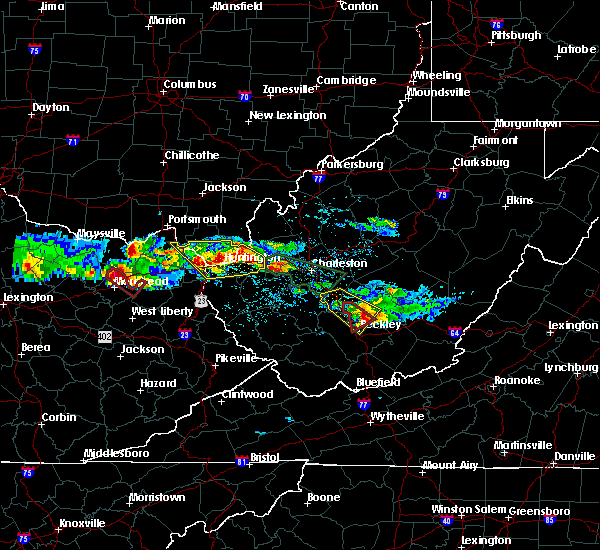 Radar Image for Severe Thunderstorms near Lavalette, WV at 4/8/2020 2:25 PM EDT