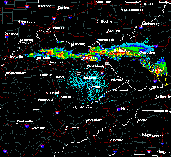 Radar Image for Severe Thunderstorms near Paris, KY at 4/8/2020 2:29 PM EDT