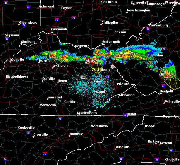 Radar Image for Severe Thunderstorms near Paris, KY at 4/8/2020 2:37 PM EDT