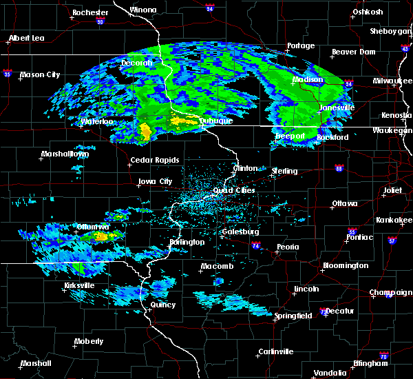 Radar Image for Severe Thunderstorms near Mount Union, IA at 4/8/2020 2:25 PM CDT