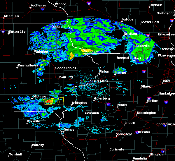 Radar Image for Severe Thunderstorms near Mount Pleasant, IA at 4/8/2020 2:43 PM CDT