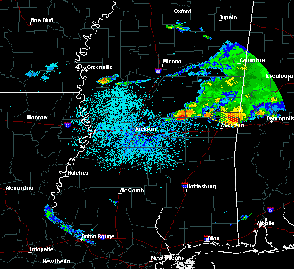 Radar Image for Severe Thunderstorms near Newton, MS at 4/8/2020 3:06 PM CDT