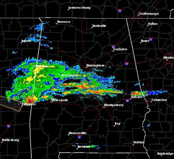 Radar Image for Severe Thunderstorms near Bellamy, AL at 4/8/2020 3:12 PM CDT