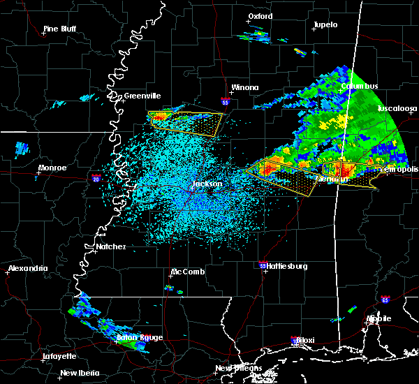 Radar Image for Severe Thunderstorms near Newton, MS at 4/8/2020 3:17 PM CDT