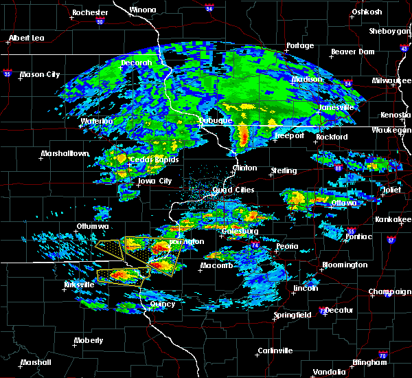 Radar Image for Severe Thunderstorms near Fort Madison, IA at 4/8/2020 3:29 PM CDT