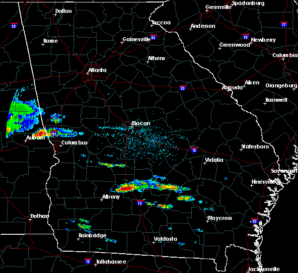 Radar Image for Severe Thunderstorms near Rebecca, GA at 4/8/2020 4:30 PM EDT