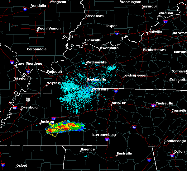 Radar Image for Severe Thunderstorms near Scotts Hill, TN at 4/8/2020 3:37 PM CDT