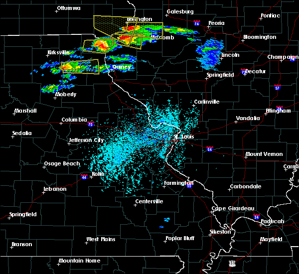 Radar Image for Severe Thunderstorms near Novelty, MO at 4/8/2020 3:39 PM CDT