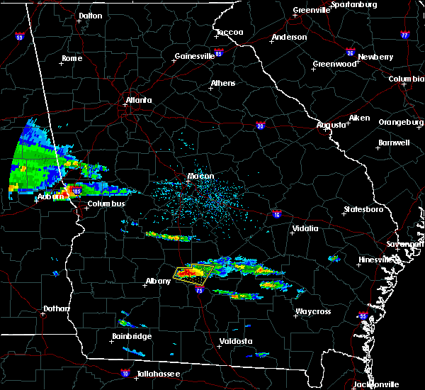 Radar Image for Severe Thunderstorms near Rebecca, GA at 4/8/2020 4:41 PM EDT