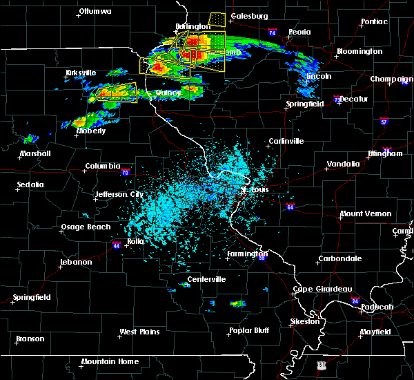 Radar Image for Severe Thunderstorms near Ewing, MO at 4/8/2020 3:55 PM CDT