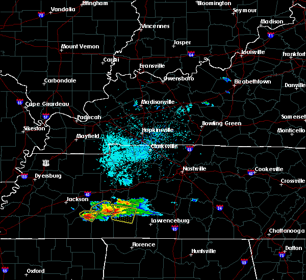 Radar Image for Severe Thunderstorms near Scotts Hill, TN at 4/8/2020 3:56 PM CDT