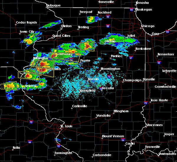 Radar Image for Severe Thunderstorms near Elvaston, IL at 4/8/2020 4:01 PM CDT