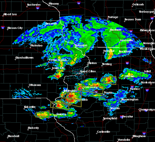 Radar Image for Severe Thunderstorms near Tennessee, IL at 4/8/2020 4:02 PM CDT