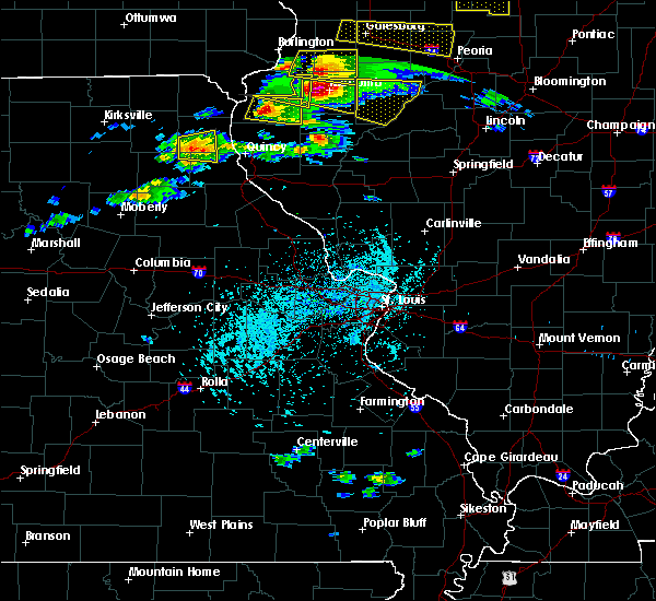 Radar Image for Severe Thunderstorms near Ewing, MO at 4/8/2020 4:05 PM CDT