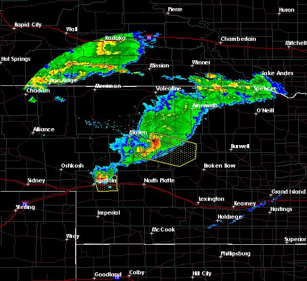 Radar Image for Severe Thunderstorms near Anselmo, NE at 6/25/2015 5:23 PM CDT