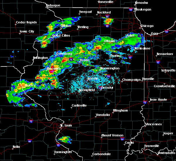 Radar Image for Severe Thunderstorms near Liverpool, IL at 4/8/2020 4:29 PM CDT