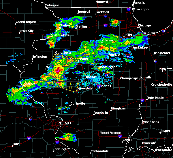 Radar Image for Severe Thunderstorms near Knoxville, IL at 4/8/2020 4:40 PM CDT
