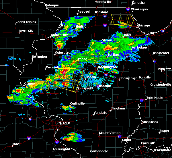 Radar Image for Severe Thunderstorms near Leland Grove, IL at 4/8/2020 4:52 PM CDT