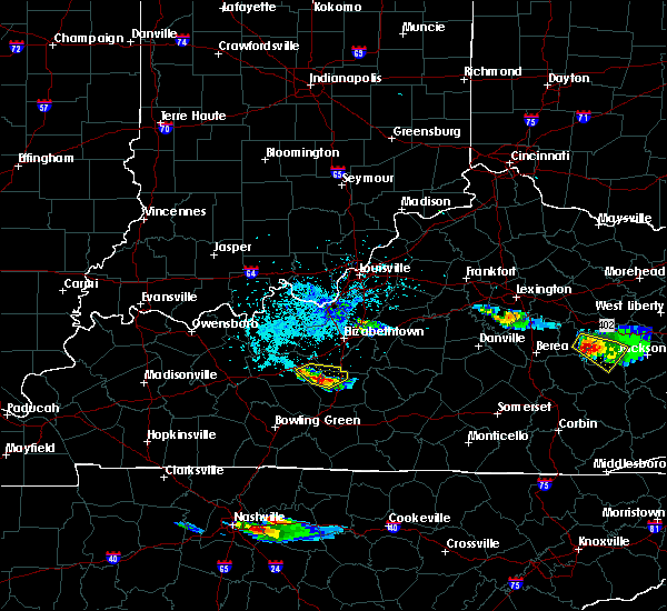 Radar Image for Severe Thunderstorms near Upton, KY at 4/8/2020 5:04 PM CDT