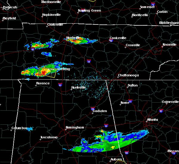 Radar Image for Severe Thunderstorms near Lawrenceburg, TN at 4/8/2020 5:09 PM CDT