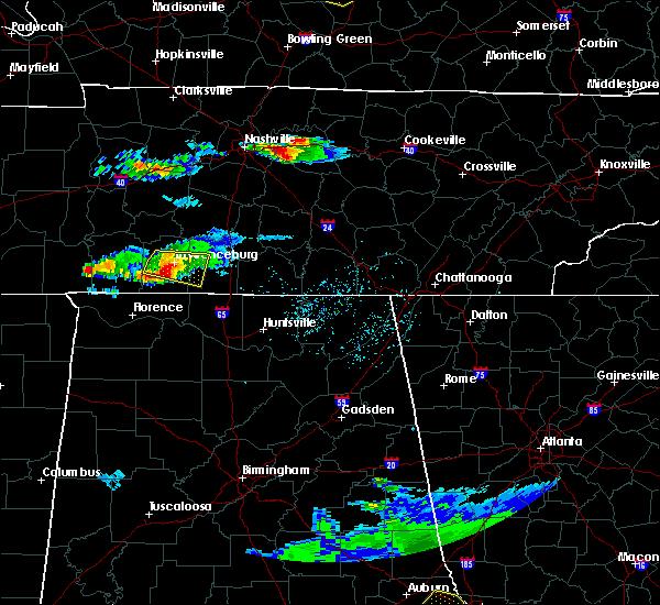 Radar Image for Severe Thunderstorms near Lawrenceburg, TN at 4/8/2020 5:17 PM CDT