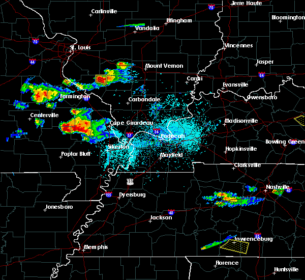 Radar Image for Severe Thunderstorms near Du Quoin, IL at 4/8/2020 5:29 PM CDT